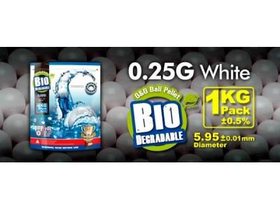 Bbs muniçao 0,25 BIO G&G
