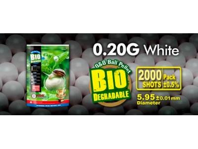 Bbs muniçao 0,20 Bio G&G