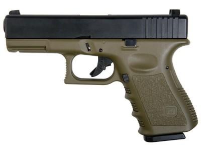Glock 23 KP-23 ABS Slide Kjw