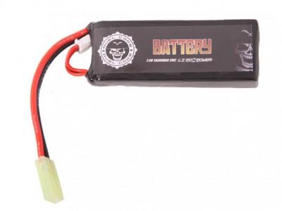 Batería LI-PO 7,4/1600 Duel Code