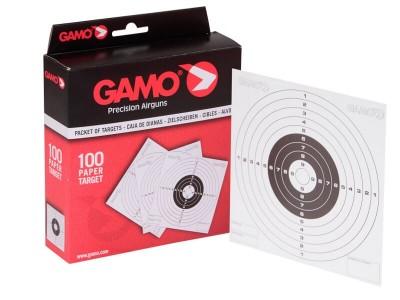 Dianas Cartón 100 ud Gamo