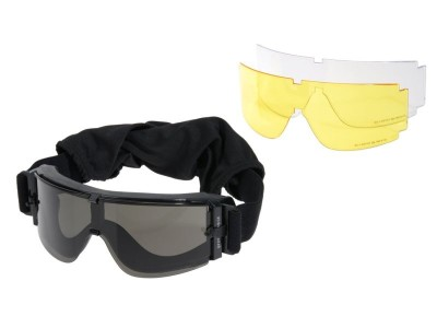 Gafas Pantalla 3 Lentes Delta Tactics