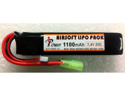 Batería LI-PO 7,4/1100 iPower